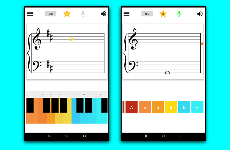 Learn Music Notes Sight Read First Screenshoot