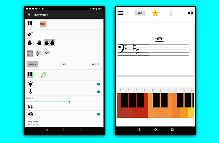 Learn Music Notes Sight Read Second Screenshoot